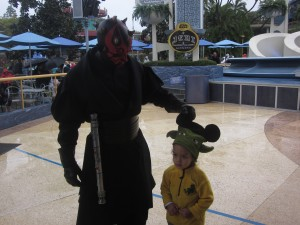 Darth Maul is Asking for Trouble